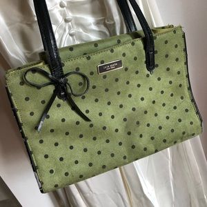 Vintage Kate Spade Polka Dot Bag